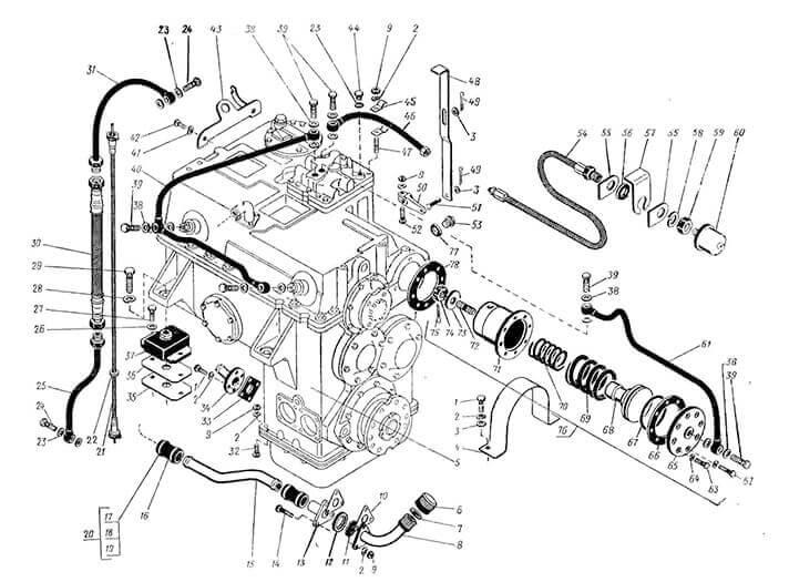 описание работ по ремонту КПП