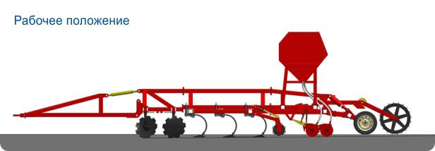 """Комбинированный посевной комплекс """"AGRATOR - COMBI"""" 4 - 14,4 га/ч"""