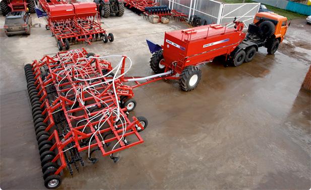 Автомобильные посевные комплексы «AGRATOR-8500 АВТО», «AGRATOR-9800 АВТО» 9,7 - 10,8 га/ч